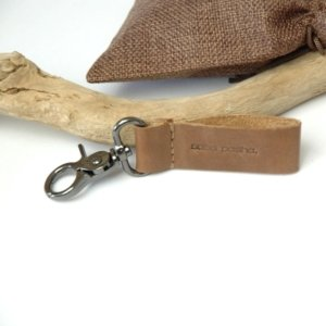 Cairo Key Chain Brown L