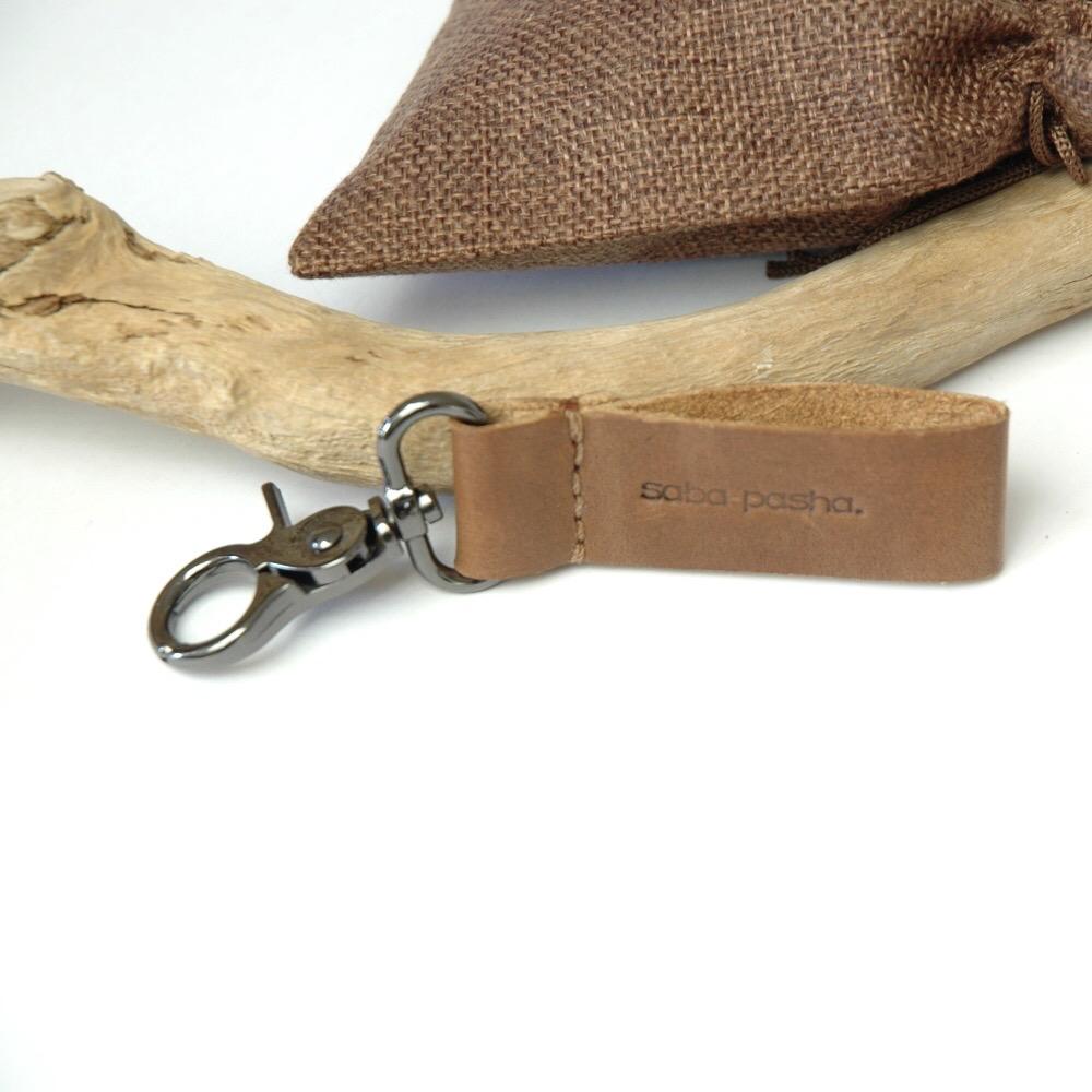 Cairo Key Chain Brown L
